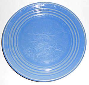 Bauer Pottery Ring Ware Delph 9-3/8in Plate