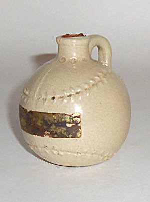 Uhl Pottery Very Rare Baseball Jug