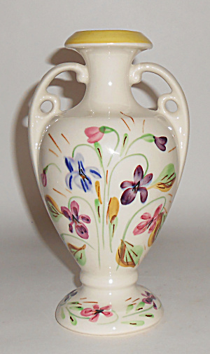 Blue Ridge Pottery China Dogtooth Violet Vase Mint