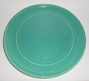 Garden City Pottery Jade Large Chop Plate