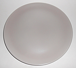 Franciscan Pottery El Patio Grey Chop Plate Mint