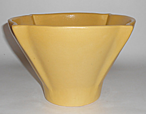 Dromore Pottery Early Large Yellow Art Deco Flower Pot