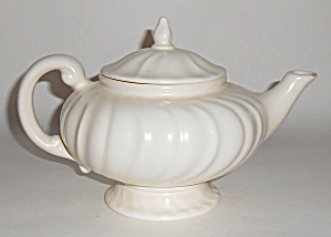 Franciscan Pottery Coronado Early Footed Ivory Teapot