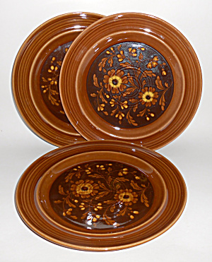 Metlox Pottery Poppy Trail Set/3 San Clemente Dinner Pl (Image1)