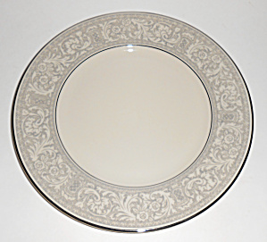 Franciscan Pottery Platinum Renaissance China Salad Plt
