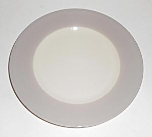 Flintridge China Bon-Lite Grey Bread Plate! MINT (Image1)
