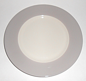 Flintridge China Bon-lite Grey Salad Plate Mint