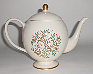 Franciscan Pottery Fine China Fremont Teapot Mint