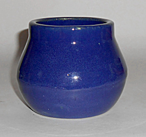 Pacific Pottery Cobalt Early Plain Hostess Ware Bean