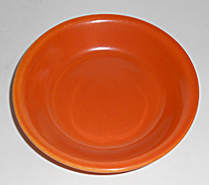 Pacific Pottery Hostess Ware Apache Red Sauce Bowl