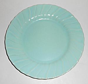 "Franciscan Pottery Coronado Satin Aqua 8"" Plate! (Image1)"
