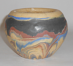 Ozark Roadside Tourist Pottery Company Flower Pot