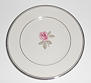 Franciscan Pottery China Huntington Rose Bread Plate