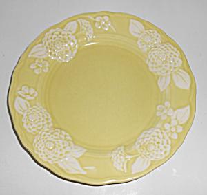 Metlox Pottery Poppy Trail Flora Lace Salad Plate! MINT (Image1)