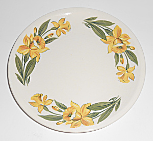 Paden City Pottery Jonquil Bread Plate Mint