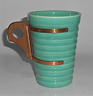Bauer Pottery Ring Ware 12 Oz Jade Tumbler Mint