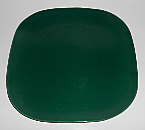Franciscan Pottery Tiempo Leaf Green Dinner Plate