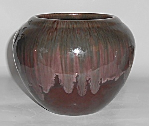 Haeger Art Pottery Early Drip #e-45 Vase Mint
