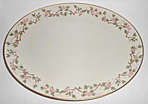 Franciscan Pottery Woodside Fine China Platter Mint