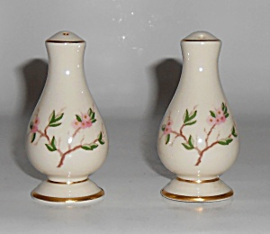 Franciscan Pottery Woodside Fine China Salt/pepper Set