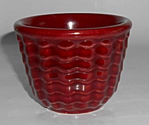 Franciscan Pottery Cocinero Maroon Custard Cup! MINT (Image1)