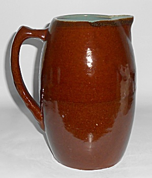 Zanesville Stoneware Pottery Country Fare Pitcher