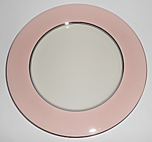 Castleton China Shell Pink Dinner Plate Mint