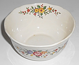 Royal Doulton China Leighton Cranberry Bowl Mint