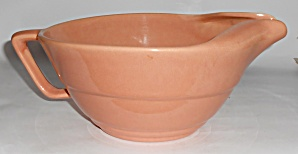 Franciscan Pottery Gloss Coral #s-67 Handled Batter Bow