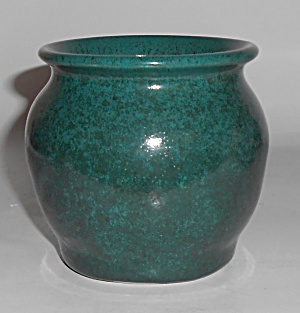 Bruning Studio Pottery Seattle Green Cabinet Vase Mint