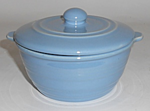 Pacific Pottery Hostess Ware Lt Blue Baking Dish Mint
