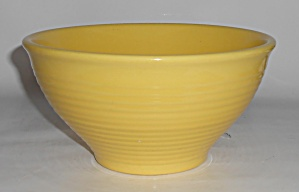 Franciscan Pottery Kitchen Ware Yellow #338 Mixing Bowl
