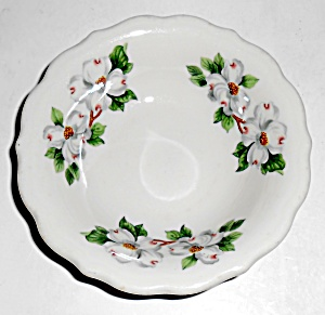 Syracuse China Restaurant Ware Dogwood Fruit Bowl Mint