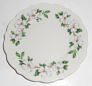 Syracuse China Restaurant Ware Dogwood Bread Plate Mint