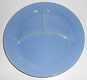 Bauer Pottery Plain Ware Delph Grill Plate! MINT (Image1)