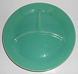 Bauer Pottery Plain Ware Jade Grill Plate