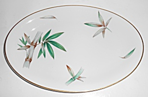 Noritake China Porcelain Canton Bamboo 12in Platter
