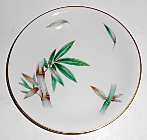 Noritake China Porcelain Canton Bamboo Bread Plate Mint