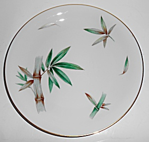 Noritake China Porcelain Canton Bamboo Dinner Plate