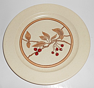 Anchor Hocking Ironstone Wild Cherry Dinner Plate Mint