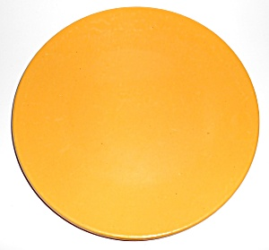 Bauer Pottery Plain Ware Yellow 11in Dinner Plate! (Image1)
