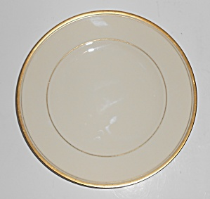Syracuse China Monticello Gold Band Dessert Plate Mint