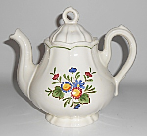 Metlox Pottery Poppy Trail Quail Ridge Teapot Mint  (Image1)