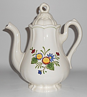Metlox Pottery Poppy Trail Quail Ridge Coffeepot Mint  (Image1)