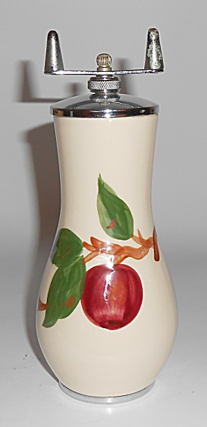 Franciscan Pottery U.s.a. Apple Pepper Mill