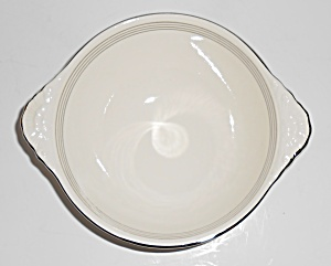 Homer Laughlin China 5 Platinum Band N1219 Cereal Bowl