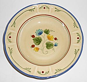 Metlox Pottery Vernon Ware Gigi Rimmed Soup Bowl (Image1)