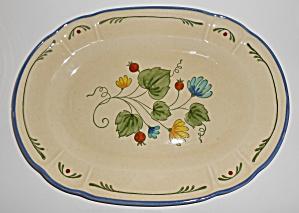 Metlox Pottery Vernon Ware Gigi Platter Mint (Image1)