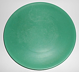 Catalina Island Pottery Descanso Green Chop Plate