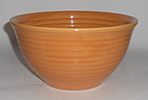 Bauer Pottery Ring Ware Pumpkin #18 Mixing Bowl